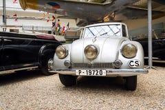 Voiture culturelle nationale tchèque Tatra 87 de monument Photo stock