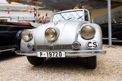 Voiture culturelle nationale tchèque Tatra 87 de monument Photos libres de droits