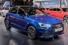 Voiture d'économie d'Audi A1 Photographie stock libre de droits