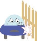 Voiture d'accidents Image libre de droits