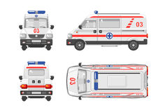 Voiture 1 d'ambulance illustration stock