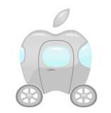 Voiture d'Apple illustration libre de droits