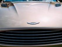 Voiture d'Aston Martin Images libres de droits