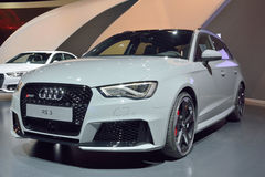 Voiture d'Audi RS3 Image stock
