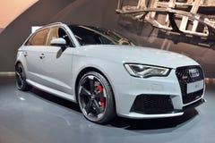 Voiture d'Audi RS3 Photographie stock