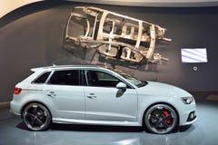 Voiture d'Audi RS3 Photographie stock libre de droits