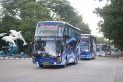 voiture d'autobus de Bangkok Photos stock