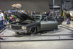 Voiture d'exposition de Chevelle Image stock