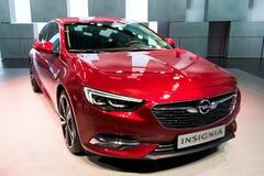 Voiture d'insignes d'Opel Photo libre de droits