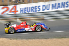 Voiture d'Oreca pour le Mans 2010 Photographie stock