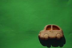 Voiture de biscuit photo libre de droits