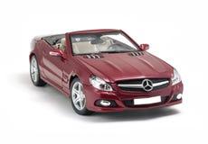 Voiture de cabriolet de Mercedes-Benz SL 550 Photos libres de droits
