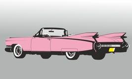 Voiture de Cadillac Eldorado Cuba illustration libre de droits