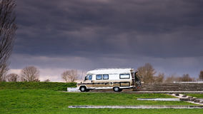 Voiture de caravane Photos stock