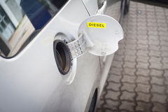 Voiture de carburant Image libre de droits