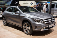 Voiture de CDI 4Matic de la classe GLA 220 de Mercedes-Benz GLA Photo libre de droits