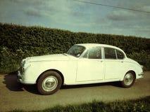 Voiture de classique de Mk II Jaguar photographie stock