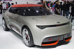 2013 voiture de concept de GZ AUTOSHOW-KIA Provo Photo libre de droits