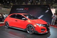 Voiture de concept de Honda Civic TypeR photos stock