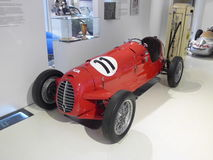 Voiture de course allemande du vintage F1 Image libre de droits