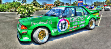 Voiture de course australienne de Ford Photos libres de droits