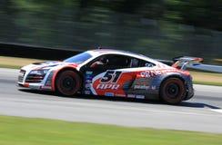 Voiture de course d'Audi R8 Photo stock