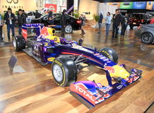 Voiture de course d'Infiniti Red Bull Photo libre de droits