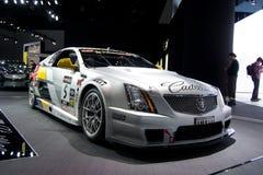 Voiture de course de coupé de Cadillac CTS-V Photographie stock