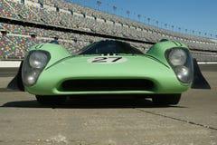 Voiture 1969 de course de coupé de la marque 3b de Lola T70 Photographie stock