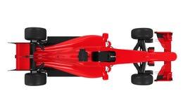 Voiture de course de Formule 1 d'isolement illustration libre de droits