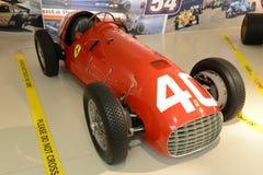 Voiture de course de la formule F2 de Ferrari 166 Photographie stock