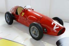 Voiture de course de la formule F2 de Ferrari Tipo 500 Images stock