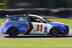 Voiture de course de la vitesse 3 de Mazda Images libres de droits