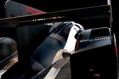 Voiture de course de Le Mans d'hybride de Porsche 919 Photos libres de droits