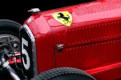 Voiture de course de Romeo Tipo B P3 d'alpha de Ferrari image libre de droits