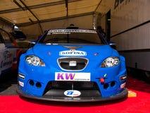 Voiture de course de Seat Léon Images stock
