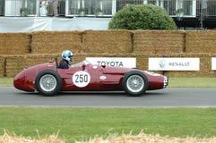 Voiture de course de vétéran de Maserati 250F Images libres de droits