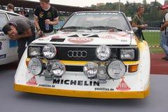 Voiture de course du gruppo b de quattro d'Audi images stock