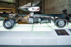 Voiture de course McLaren-Mercedes MP4-14, 1999 de Formule 1 Photos libres de droits