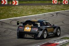 Voiture de emballage cinétique de Team Mitjet à Monza Images libres de droits
