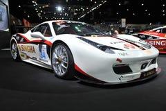 Voiture de Ferrari au 3ème autosalon international 2015 de Bangkok le 27 juin 2015 à Bangkok, Thaïlande Photo libre de droits