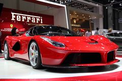 Ferrari LaFerrari - Salon de l'Automobile de Genève 2013 Images stock