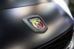 Voiture de Fiat Abarth Photos stock