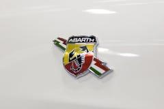 Voiture de Fiat Abarth Image libre de droits