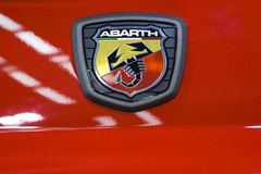 Voiture de Fiat Abarth Photo libre de droits