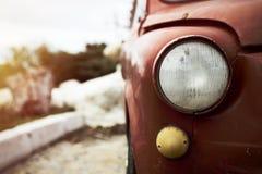 Voiture de Fiat 500 d'ordure Images libres de droits