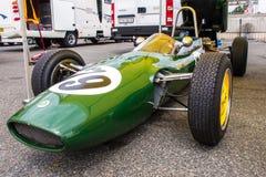 Voiture de formule historique de Lotus Photo libre de droits
