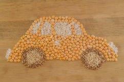Voiture de grain qui respecte l'environnement Photos stock