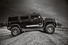 Voiture de Hummer H2 USA Images libres de droits