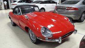 Voiture de Jaguar Photographie stock libre de droits